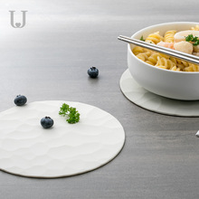 Jordan&Judy Silicone Placemat Table Protection Pad Food Grade Silicone High Temperature Insulation Pad