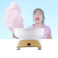 450 w caseiro marshmallow diy crianças petiscos algodão doce máquina profissional uk plug Máquina de Waffle     -