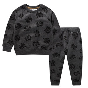 Image 3 - Jumping meters Baby Boys Clothing Sets Autumn Winter Boy Set Sport Suits For Boys Sweater Shirt Pants 2 Pieces Sets children