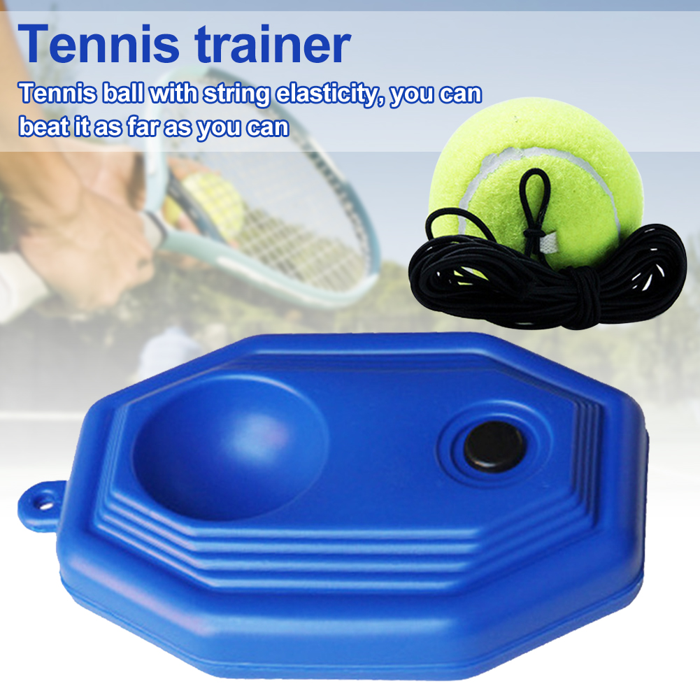 Beginner With String Single Person Sparring Device Training Tool Baseboard Exercise Practice Balls Tennis Trainer Kick Back