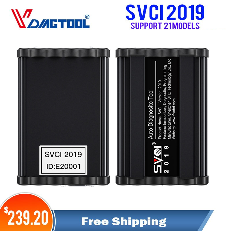 Vdiagtool SVCI 2020 programmeur de clé automatique Abrites Commander la Version complète comprend (SVCI) FVDI 2018 2019 2015 2014 fonctions