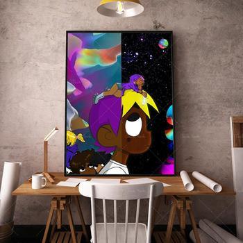 Canvas Painting Abstract Figure Nordic Posters Lil Uzi Vert vs The World Poster Scandinavian Decor Bedroom Living Room
