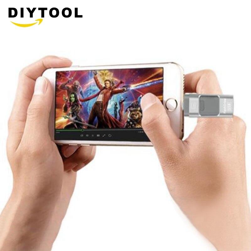 8gb/16gb/32gb/64gb/128gb/256gb iphone андроид компьютер металлический