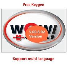 Venda quente para wow wurth v 5.00.8 r2 multi-idioma com keygen livre para vd tcs pro delphis ds150e multidiag carros e caminhões