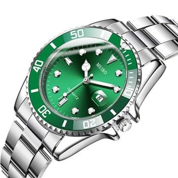 Watch Men Quartz Clock Fashion Sports Waterproof Stainless Steel Business Watches Relogio Masculino часы Luxury Brand Wristwatch 1