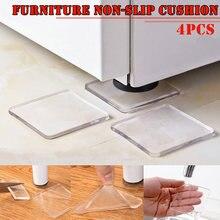 Coussin de chaise Anti-choc pour Machine à laver, meuble antidérapant C66, 4 pièces