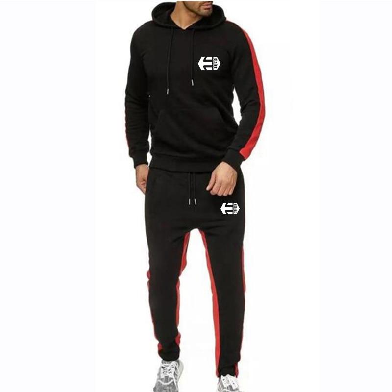 New Winter Track Suit Men Tracksuit Men Hoodie Pants Set Clothes Casual Sweatshirts Coats Male Jogging Homme Set Sportswear Sets