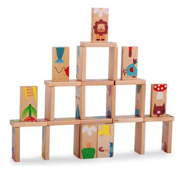28 sztuk zestaw zwierzęta klocki Domino drewniane klocki do gry w Domino klocki Domino klocki do budowy układania toppling gry wyścigi edukacyjne zabawki dla dzieci tanie i dobre opinie FNAF CN (pochodzenie) Wooden toys Drewna 8 ~ 13 Lat 14Y 5-7 lat 2-4 lat Dorośli Zwierzęta i Natura