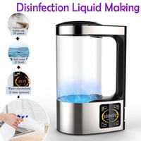 200ml Household Disinfectant Maker Portable Disinfection Liquid Making Machine Self made Disinfection Phone Sterilizer auf