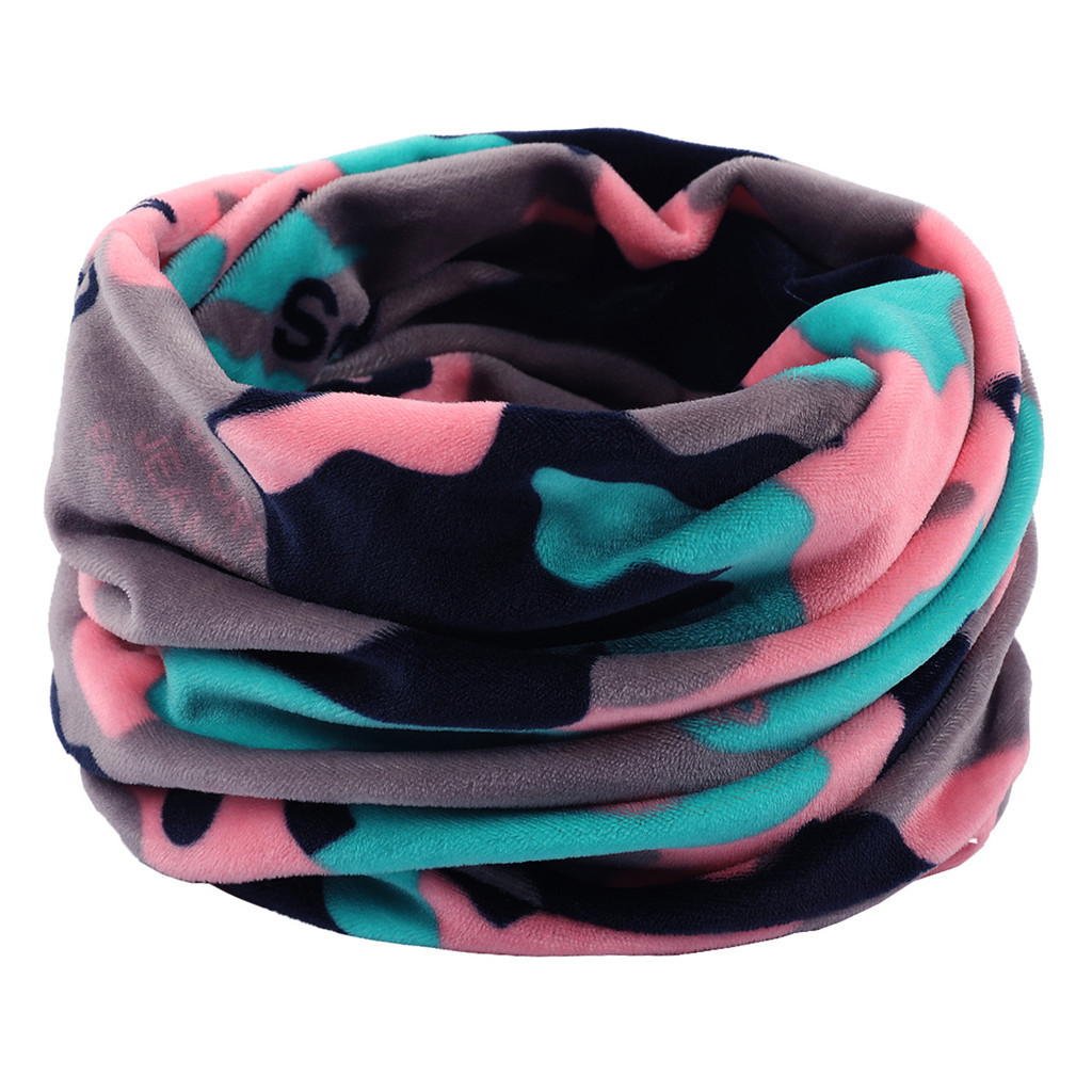 Sleeper #P501 FASHION Unisex Plaid Double Layer Neck Warmer Fleece Knitted Scarf Scarves For Boy Girl Shawl Cowl шарф Winter Hot