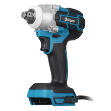 Impact-Wrench Power-Tool 18v Battery Drillpro For Makita Cordles Brushless Electric
