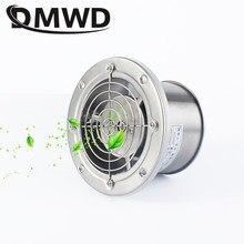 DMWD 4 pouces tuyau en acier inoxydable ventilateur d'échappement fenêtre conduit ventilateur de Ventilation 4 ''toilette cuisine salle de bains ventilateur d'air extracteur