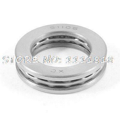 Replacement 51106 47mm X 31mm X 10mm Magnetic Axial Thrust Ball Bearing