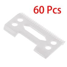 60 шт. 28 зубов циркония керамические клипер лезвия для Wahl старшего клипера