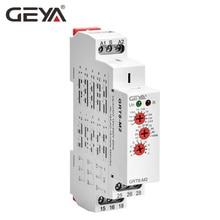 GRT8-M Multi Function Timer Relay with 10 Function Choices AC DC 12V 24V 220V 230V Time Relay GEYA Factory authentic original stp 3d fotek time relay multi function digital timer