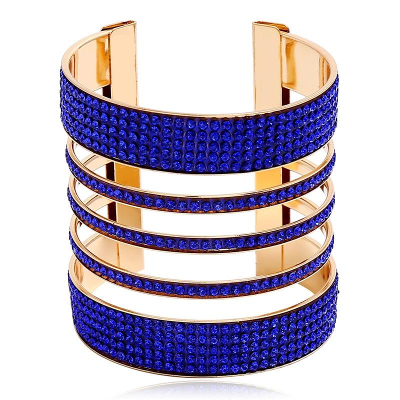 Femme Bracelet Argent Plaqué Géométrique Manchette Bangle Réglable Bijoux Cadeau