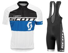 Scott Belgium Belgian Cycling Jersey and Bib Shorts Kit Men Short Sleeve Bicycle Clothing Quick Dry Breathable Bib Pants with GE(China)