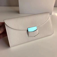 Guangzhou 2019 New Style Women's Wallet Long Luxury Europe And America Buckle Carrying Wallet Women's