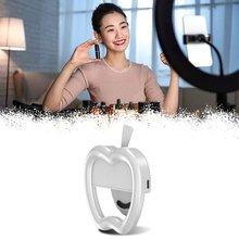 Apple Форма Мобильный Телефон Заливка Свет Для Внешний Мобильный Телефон Красота Селфи Вспышка Круглый Живой Заливка Прочный Свет