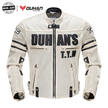DUHAN Summer Motorcycle Jacket Men Breathable Mesh Riding Moto Jacket Motorcycle Body Armor Protector Moto Cross Clothing duhan summer motorcycle jacket men breathable mesh riding moto jacket motorcycle body armor protector moto cross clothing