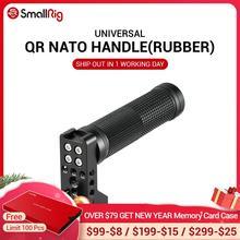 """SmallRig QR נאט""""ו ידית (גומי) עם בטיחות המהיר יד גריפ SmallRig A7III / Z6 /Z7 מצלמה כלוב 2084"""
