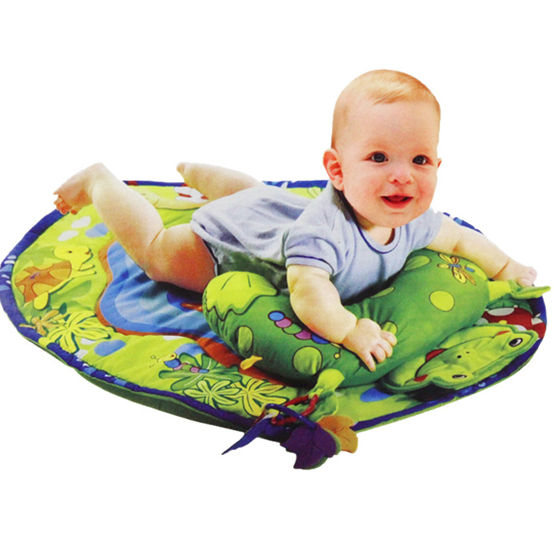 Baby Gym Crawling Play Newborn Developing Mat Children's Mat With Pillow Baby Early Development Activity Mat