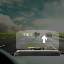 Универсальный автомобильный HUD Дисплей проектор телефон навигация смартфон держатель gps дисплей держатель телефона gps проектор