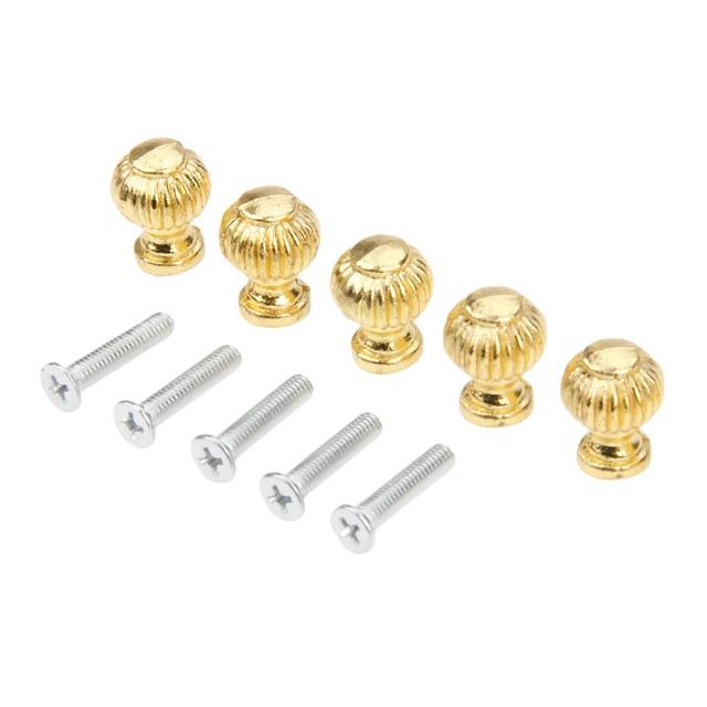 Купить золотые ручки для мебели 5 шт ящики шкатулок шкафов буфетов картинки цена