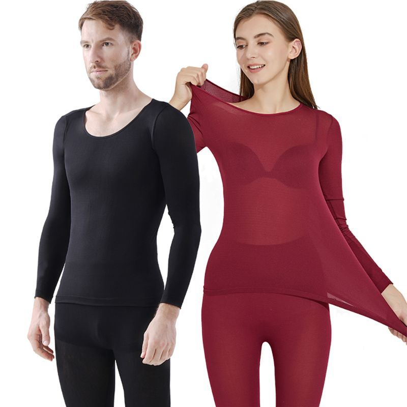 Thermal Underwear For Women Men Winter Warm Long Johns Women's Thermal Underwear Set Thermo Underwear For Male Female
