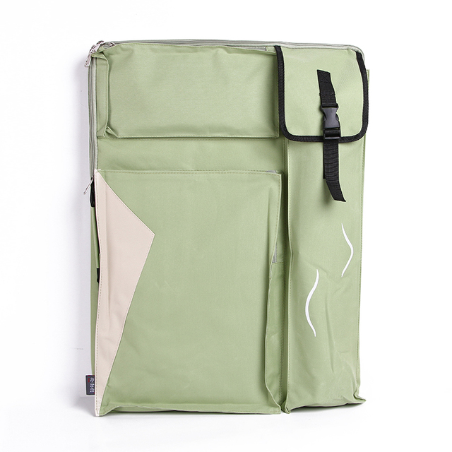 4K duża torba sztuki na zestaw do rysowania wodoodporny przenośny zestaw sztuki Sketchpad torba dostaw sztuki dla artysty 65x50CM