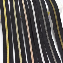 5/10meters Meetee 3# 5# Nylon Zippers Colorful Tooth Coil Zip Tailor DIY Bags Garment Clothing Zipper Replace Sewing Accessories