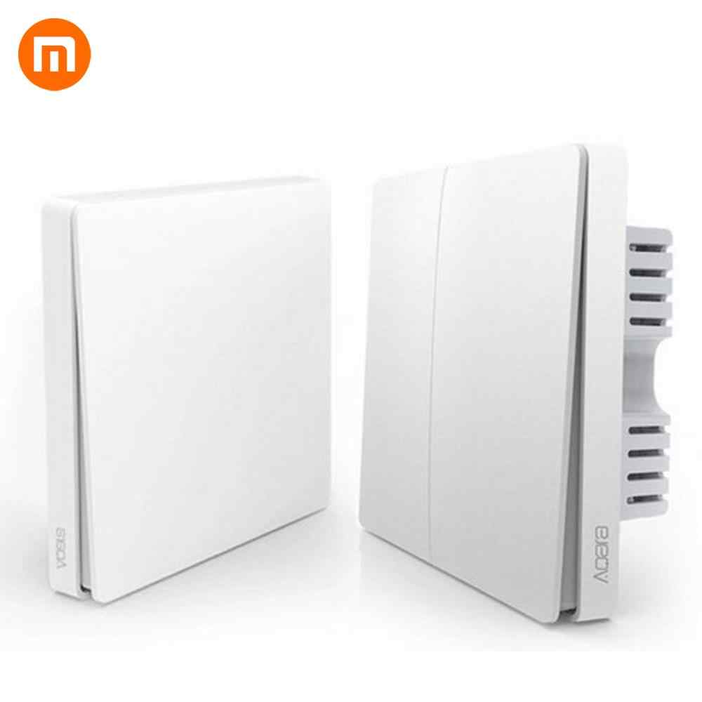 [HOT] Xiaomi Smart Home Gateway 3, aqara Smart Light Control ZiGBee/Wifi Draadloze Sleutel en Wandschakelaar Via Smarphone APP Remote