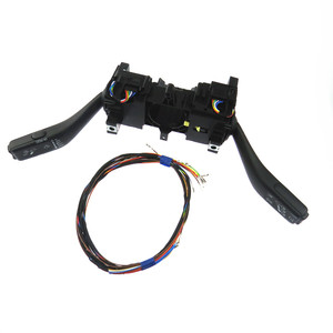 Image 2 - 1Set Steering Wheel Turn Signal Cruise Combination Switch Control Stack & Cable for polo 6RA953513G 6RA 953 513G 6RA 953 513 G