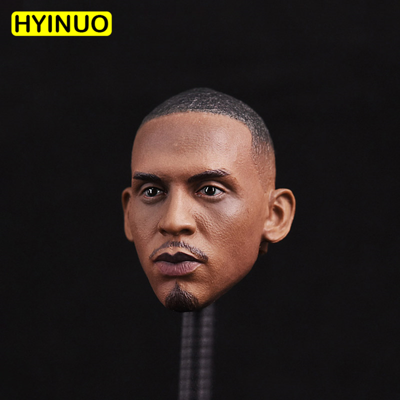 1/6 Scale Basketball Star Professional Basketball Player Anfernee Hardaway Head Sculpt Headplay for 12 Action Figure Body Toys image
