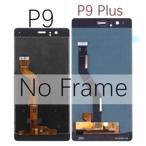 Image 4 - Pour Huawei P9 LCD écran tactile numériseur assemblée avec cadre pour Huawei P9 Plus écran LCD EVA L09 L19 VIE L09 L29