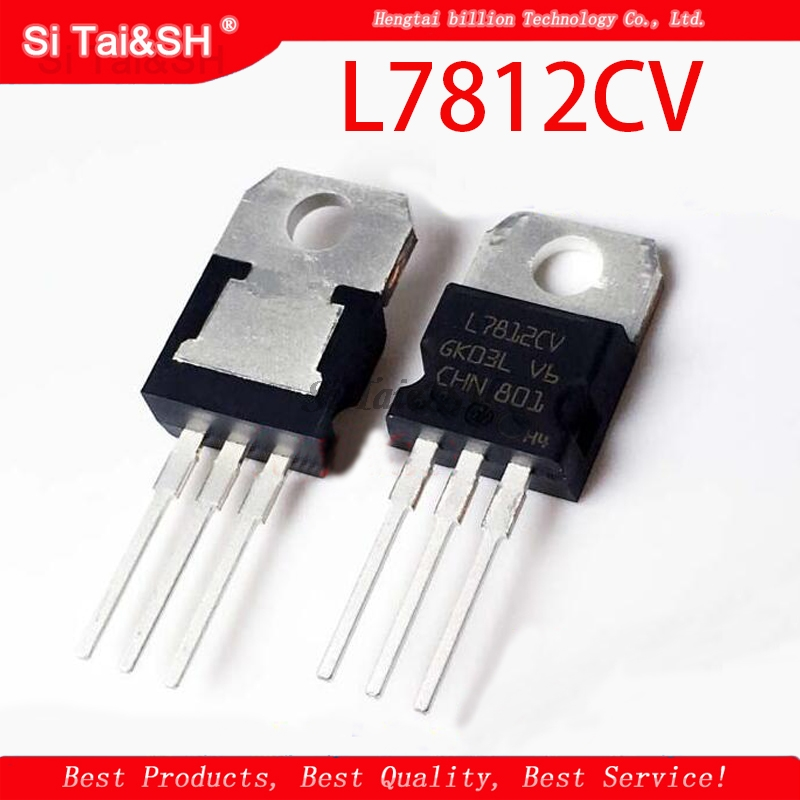10PCS L7812CV TO220 L7812 TO-220 7812CV New And Original IC