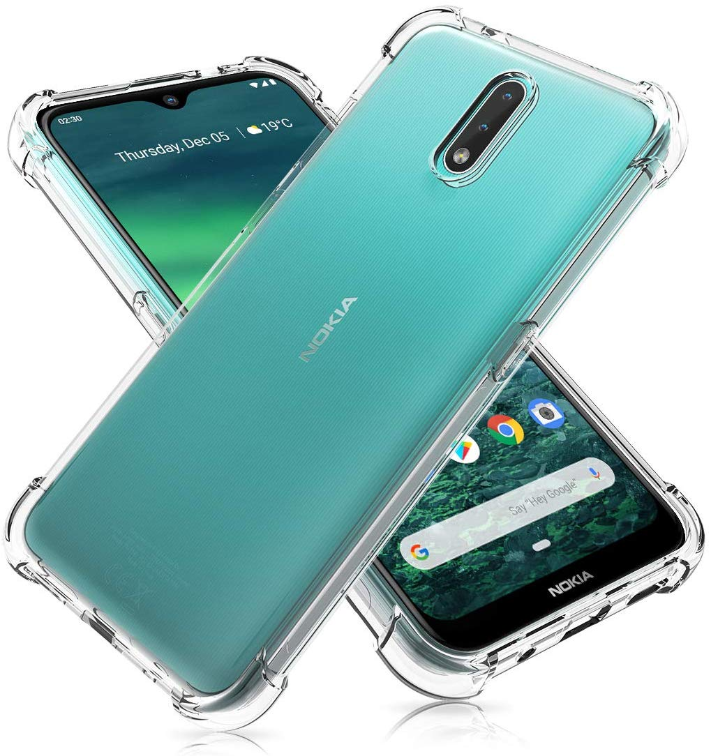 Cover For Nokia 2.3 Case Airbag Super Protection Soft Clear Back Phone Cases For Nokia2.3