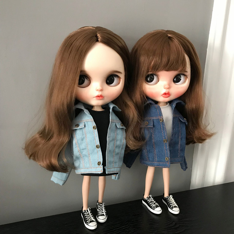 1PCS Blyth Doll Clothes Fashion Jacket Or Blyth , Azone1/6 Doll Accessories Doll Clothing For Barbie