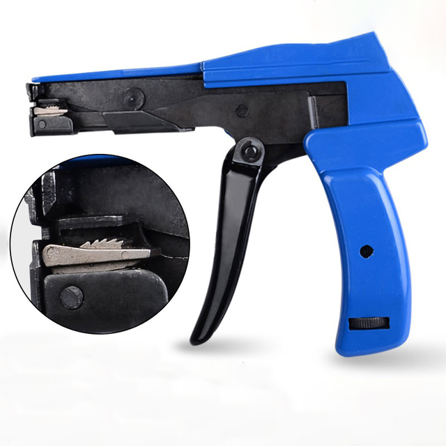 หนีบและตัดเครื่องมือสำหรับยึดสายพิเศษคีมสำหรับสายไนลอนที่มีคุณภาพสูงหน้าแปลนปืนจาก 2.2mm 4.8 มม.