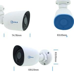 Image 2 - Камера видеонаблюдения Movols, AHD/TVI/CVI/аналоговая 4 в 1 с ночным видением, 60 футов, Кабель BNC и DCplug для системы DVR
