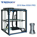 Tronxy X5SA Pro 3D Printer Upgraded Titan Extruder Double Axis Guide Rail Build Plate Resume Power Failure Printing DIY KIT