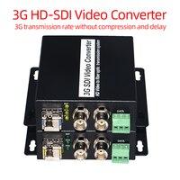 3G HD SDI Video/Audio/RS485 Data over Fiber optic Media Converters Transmitter Receiver SDI Fiber Extender single fiber SFP LC