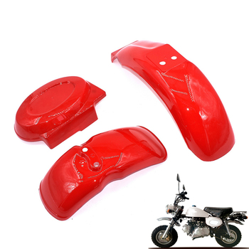 Guardabarros trasero y delantero de plástico para Honda, accesorio para Mini bicicleta de Trail, DAX monkey, para Honda Z50A Z50R Z50J Z110 Z125