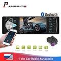 Автомагнитола AMPrime 4022D, стерео-система с поддержкой камеры заднего вида, FM-радио, Bluetooth, Типоразмер 1 din