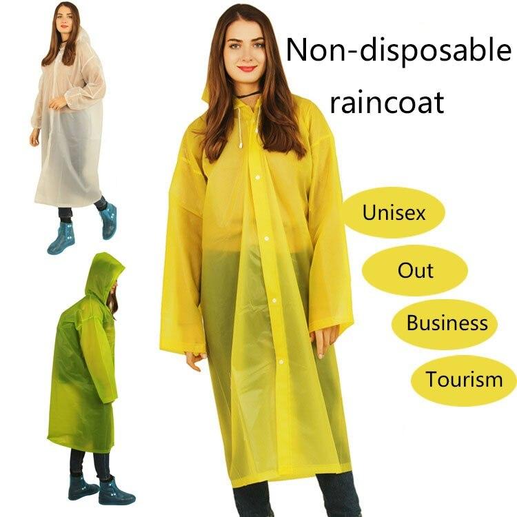 New Reusable Protective Blouse Hooded Top Rain Jacket Prevents Splashing Body Raincoats Anti-spit Anti-splash Rain Coat Outdoor(China)