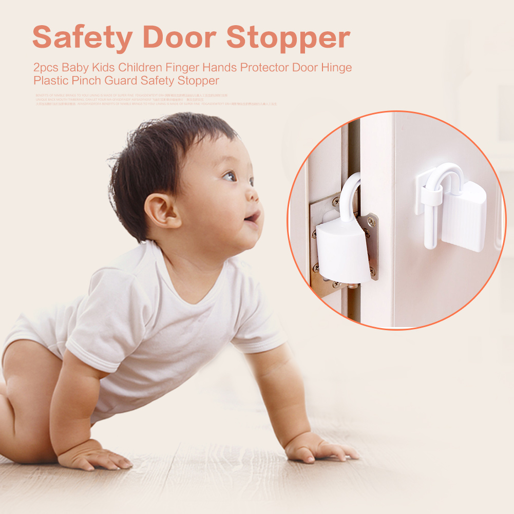 Anti-pinch Baby Safety Lock Wardrobe Door Children Protector Toddler Kids