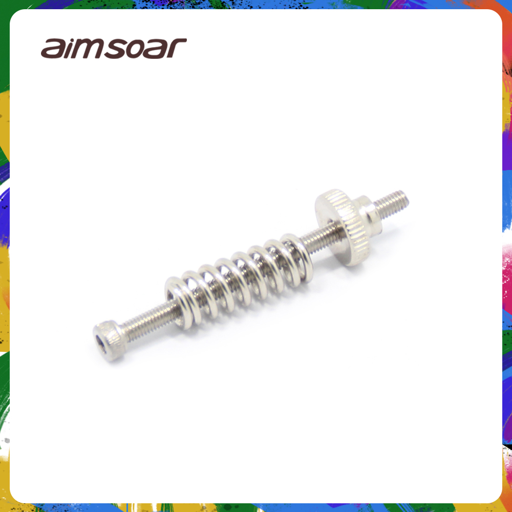 Leveling Components M3 Screw Leveling Spring Knob Suite For 3d Printer Heating Bed Parts