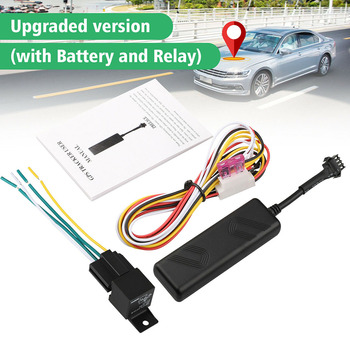 Car GPS Tracker GPS GPRS GSM Vehicle Tracker Real-time Position Locator Car Truck SUV Motorcycle Alarm Tracker image