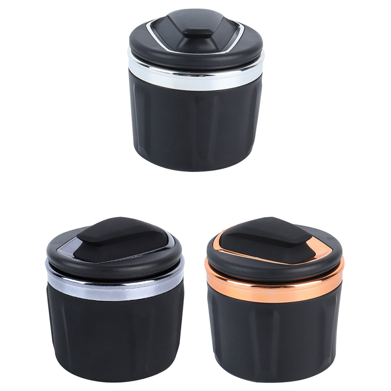 YOLU Car Ashtray Holder Cup Universal Portable lager-caliber High Flame Retardant small mini Ashtray