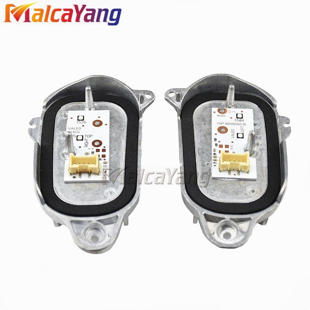 Sidelights Daytime Running Light Module DRL Left & Right 8R0941475B 8R0941476B For 13-17 Audi Q5 LCL 8R0.941.475B 8R0.941.476B